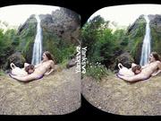 Endza & Sierra Lesbian Camping & Cumming