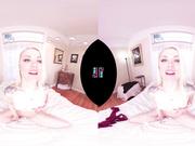 VRHUSH Ash Hollywood masturbates in POV VR