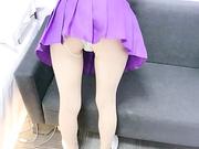 美腿蜜臀尤物性感超短裙,无套内射笔直美腿绝对数一数二