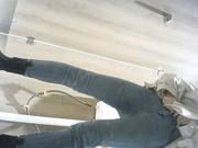 商场女厕全景偷拍